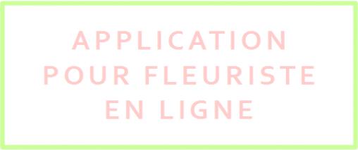 idees innovantes application pour fleuriste en ligne
